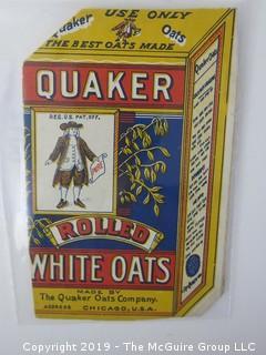 1910; The Quaker Oats Co.