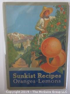 1916; Sunkist: Orange and Lemon Recipes