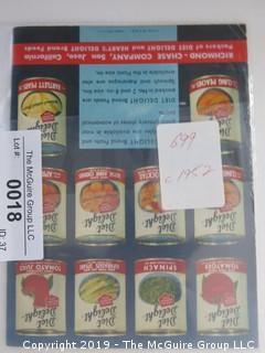 1952;  Diet Delight Brand Foods