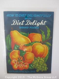 1952;  Diet Delight Brand Foods