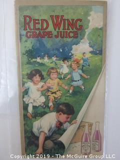 1915; Red Wing Grape Juice