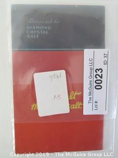 1926; Diamond Crystal Salt
