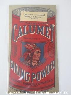 c 1915; Calumet Baking Powder