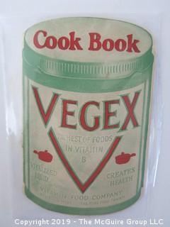 1922; Vegex Cook Book