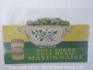 c 1920's; Best Foods