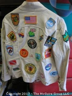 GAP Jacket Plastered with Patches