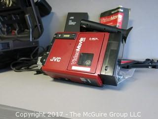 JVC VHS Movie Camera (complete with accessories and the case)