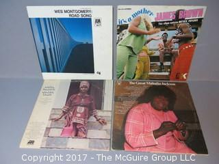 Collection of vintage vinyl records albums - approximately 20