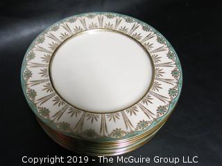 (12) Lenox Dinner Plates