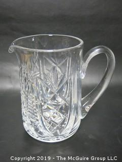 Waterford Cut Crystal Water Pitcher