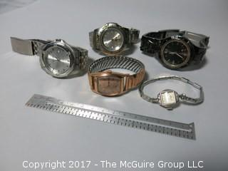 Assortment of men's watches