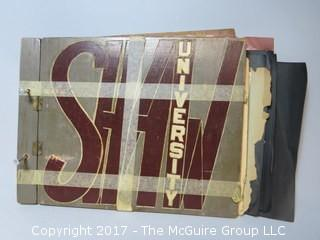 1940's Shaw University scrapbook