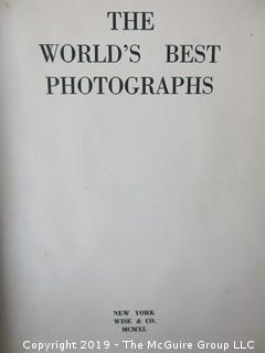 "Book Title: ""The World's Best Photographs, 1940"";"