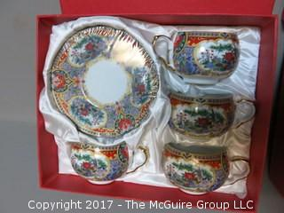(2) NIB decorative china sets