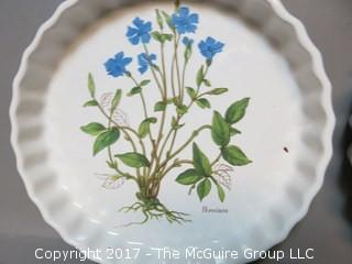(2) tart plates