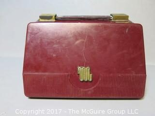 1950 Motorola Tube Model 5M2U Electric/Battery Radio, serial # 29747