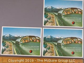 Collection of (3) Large Postcards
