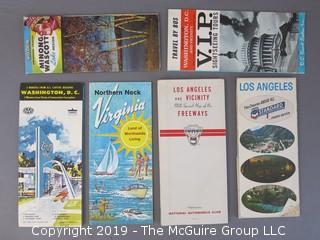 Collection of Ephemera including Los Angeles and Vicinity Freeways circa 1960's