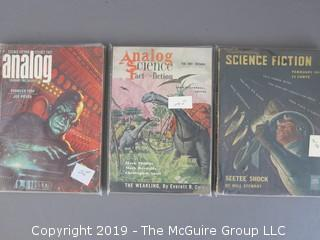 Collection of (3) Science Fiction Books; circa 1960's