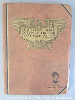 History and Rhymes of the Lost Battalion; American Legion; World War I