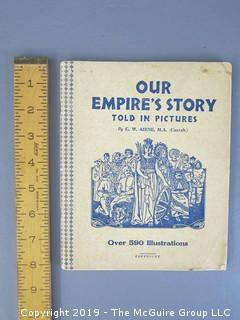 "Book Title: ""Our Empire's Story - Told in 590 Pictures"""