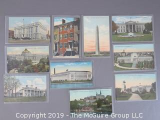 Collection of Unused Vintage WDC postcards - WILL SHIP ALL ITEMS