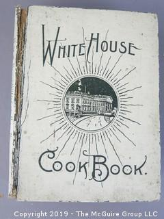 1904  White House Cookbook  - WILL SHIP ALL ITEMS