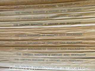 """Virginia Magazine of History and Biography"" - see multiple photos"