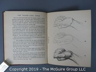 """Book Title: """"How To Draw Hands"""" by Oliver Senior; 2nd Impression, April 1945"""