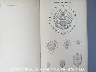 """Book Title: """"Seals and Other Devices in Use in the Government Printing Office""""; June 1950  WILL SHIP"""