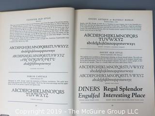 "Book Title: ""Encyclopedia of Typefaces""; authored by W. Turner Berry and A.F. Johnson; 1953; Blandford Press Ltd; London"