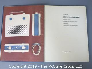 """Book Title: """"Designers in Britain; Vol. II; A Biennial Review of Graphic and Industrial Design""""; compiled by The Society of Industrial Artists; Allan Wingate; London; 1949 WILL SHIP"""