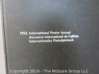 "Book Title: ""1956 International Poster Annual""; published by Arthur Niggli; distributed by Hastings House; New York  WILL SHIP"