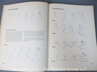 "Book Title: ""A Complete Guide to Professional Cartooning""; authored by Gene Byrnes; 1950; printed by the Polygraphic Company of America; published by Bell; PA"