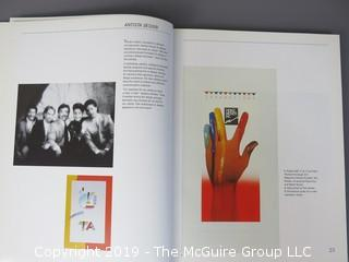 "Book Title: ""Graphic Design: Los Angeles""; authored by Julie Prendiville; designed by Gerry Rosentswieg; published by Madison Square Press; 1988"