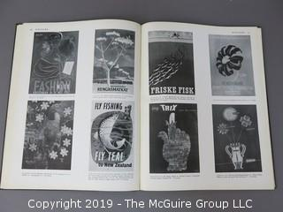 "Book Title: ""Modern Publicity: 1953-54, 23rd Issue of Art and Industry's International Annual of Advertising Art""; edited by Frank A. Mercer; published by The Studio, London and New York;"
