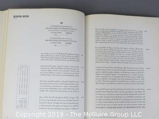 """Book Title: """"Vol. I and II; Graphic Arts Typebooks (serif faces, sans serifs, square serifs and misc. faces); the specimen book of Graphics Arts Typographers, Inc., New York; 1965"""