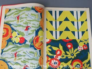 """Book Title: """"2000 Designs, Forms and Ornaments""""; compiled by Michael Estrin; published by William Penn; 1947"""