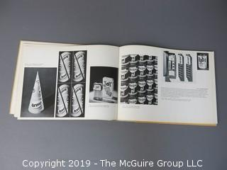 """Book Title: """"Package Design: The Force of Visual Selling""""; authored by Latislav Sutnar;  published by Arts, Inc.; 1953"""