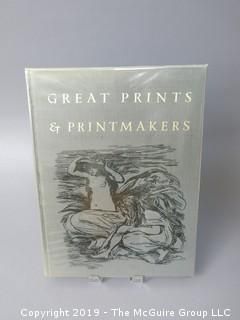 "Book Title: ""Great Prints and Printmakers""; authored by Herman J. Wechsler; published by Harry N. Abrams, New York; 1967  WILL SHIP"