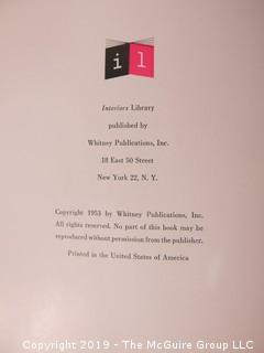 "Book Title: ""Display""; published by Whitney Publications, New York; 1953"