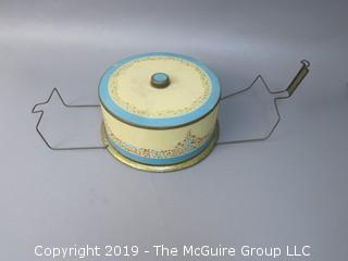Vintage Cake Tin Carrier