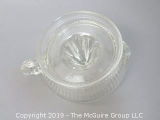 Clear Glass Juicer/Reamer