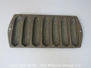 Cast Iron Corn Baking Mold