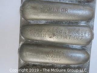 Cast Iron Junior WagnerWare Corn Baking Mold
