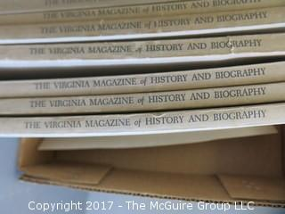Collection of books including Virginia History and Biography - see multiple photos
