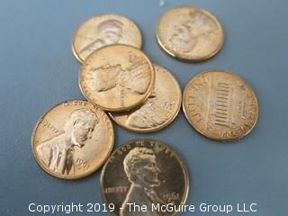 (2) Rolls of 1961-D  BU Cents (Description Altered 5.5 @ 12:24pm)