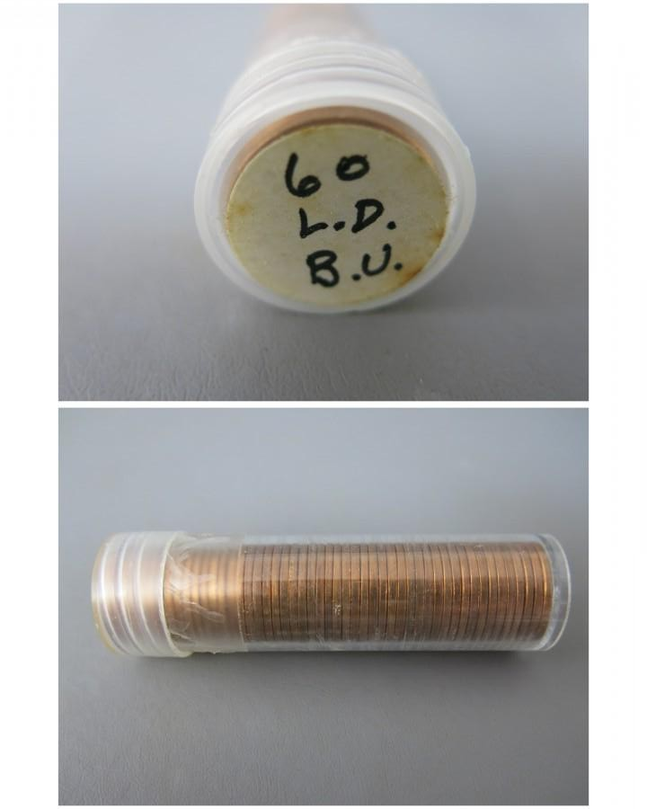 The McGuire Group LLC - Auction: Coins ITEM: Roll of 1960