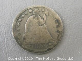 1854 Half Dime
