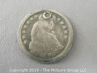 1849 Half Dime